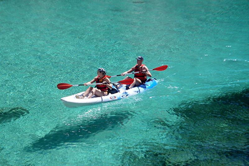 Randonnée en kayak cassis