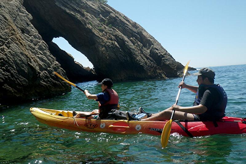 Balade en kayak avec guide sur la côte bleue