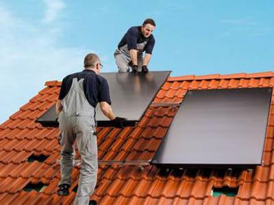 Mit einer Solaranlage Heizkosten senken