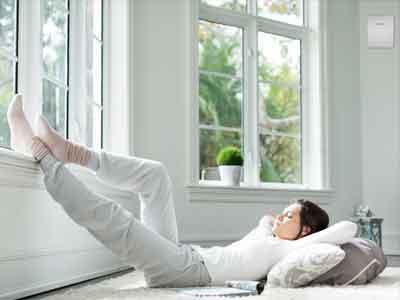 Verbessern Sie Ihre Wohnqualität mit einem Lüftungssystem und sparen Sie gleichzeitig Energie.