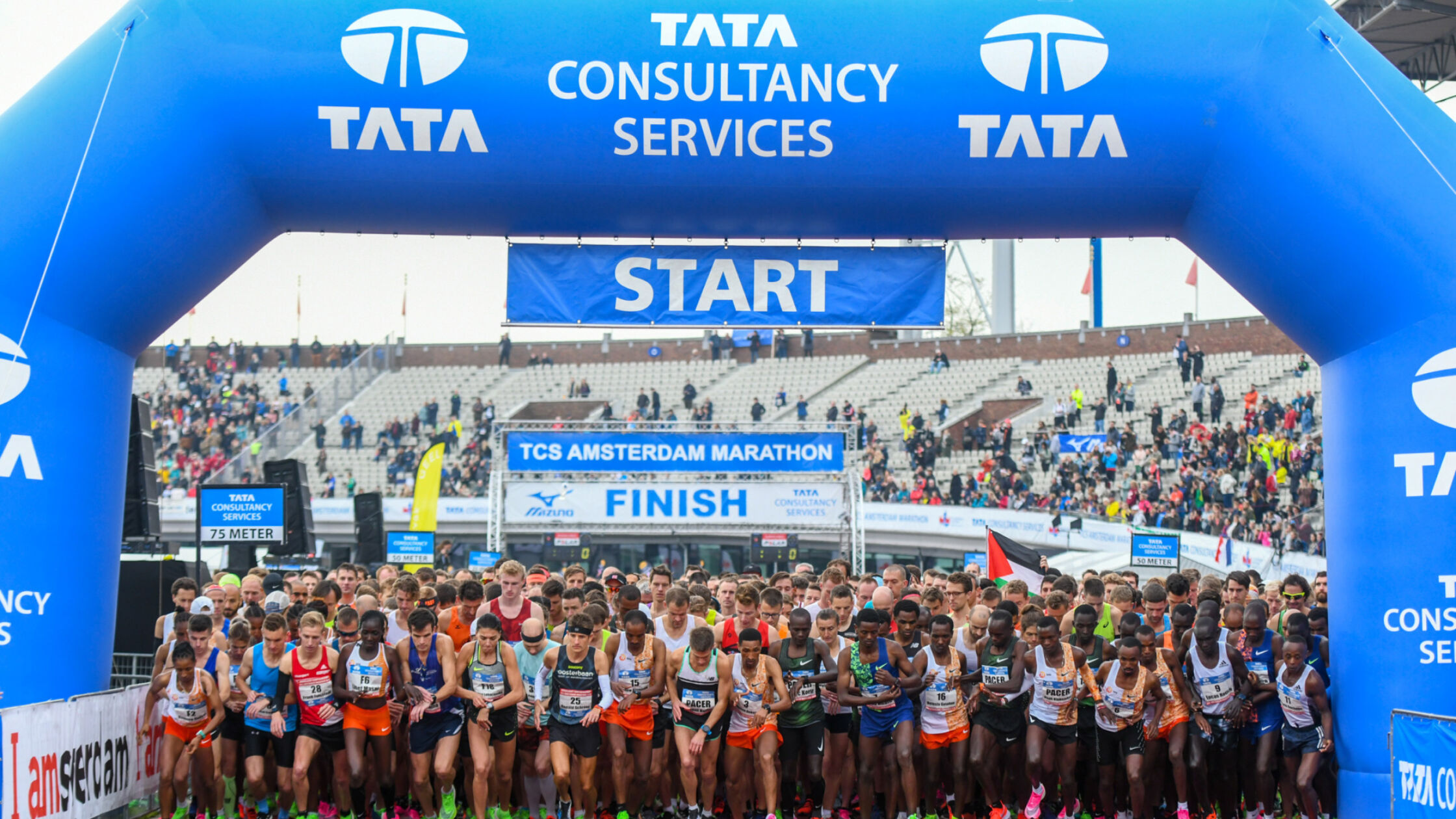 Doe mee aan de virtuele editie van de TCS Amsterdam Marathon!