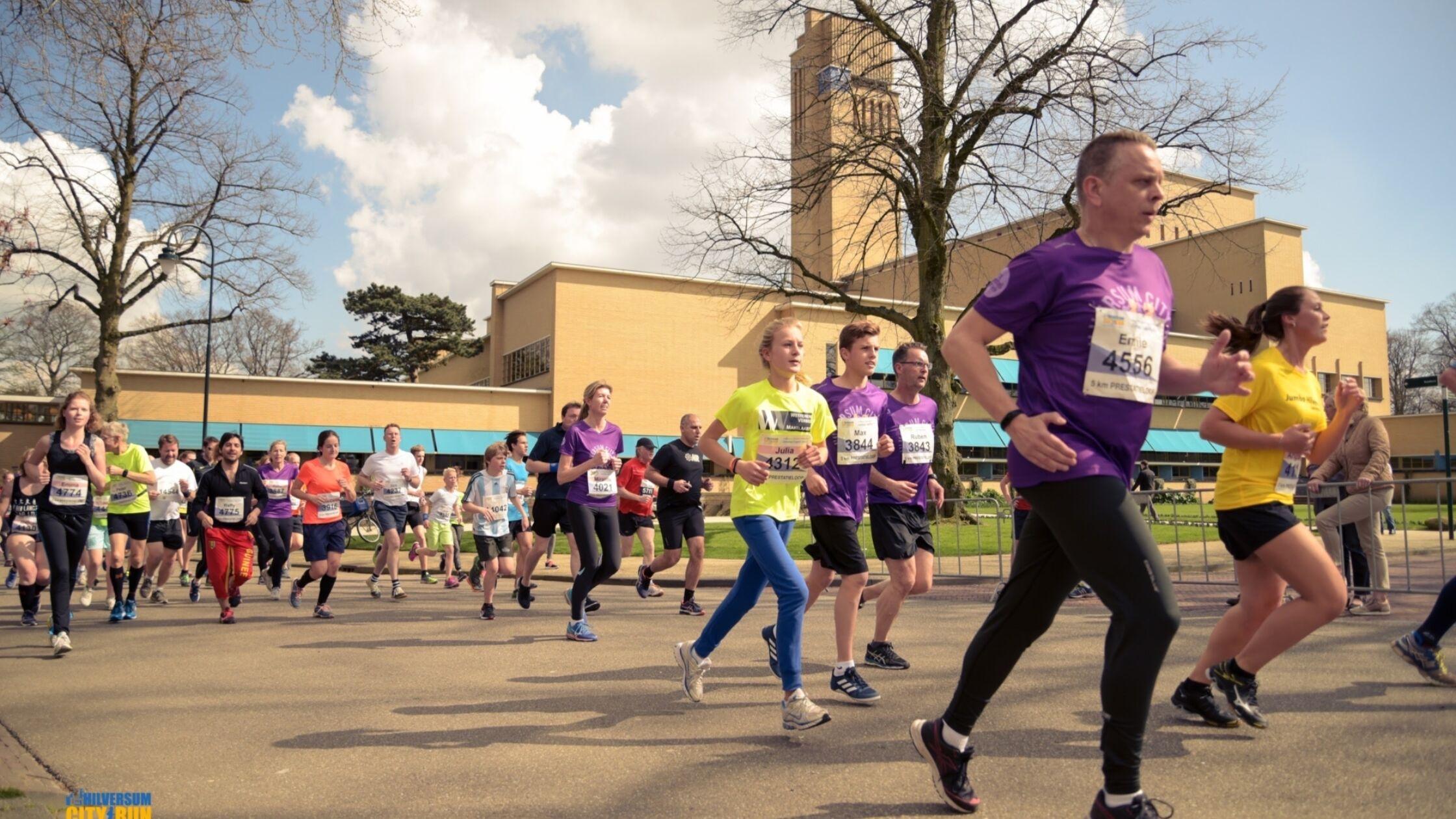 Hilversum City Run, de grootste van 't Gooi