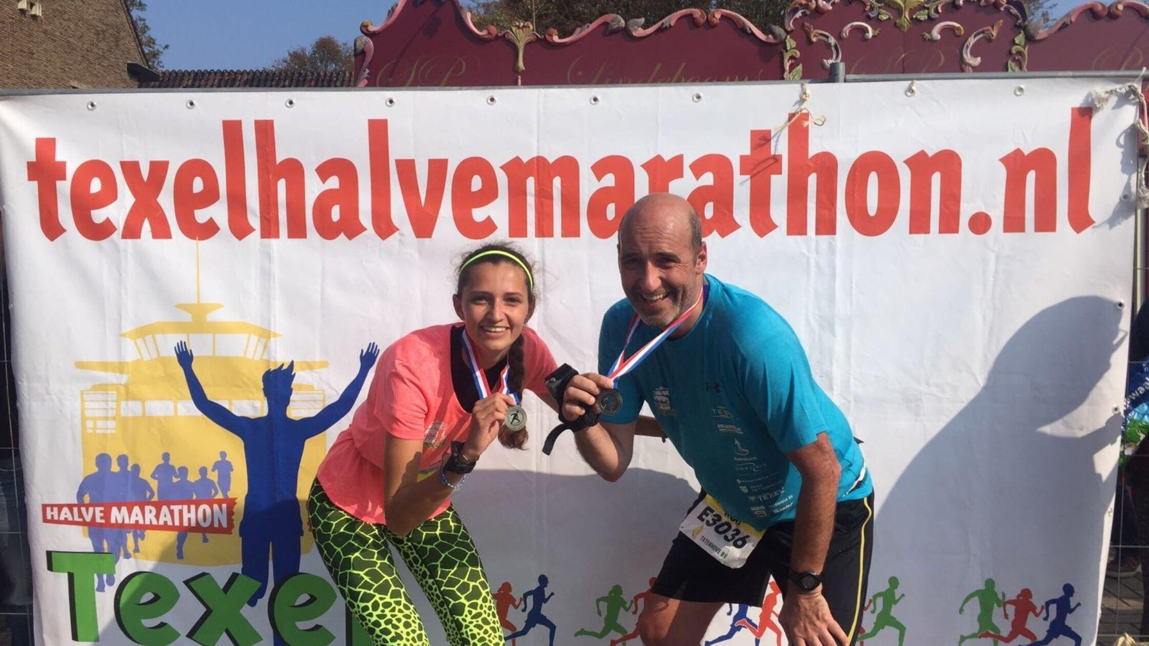 """""""Alles was eigenlijk even mooi tijdens de Texel Halve Marathon"""""""