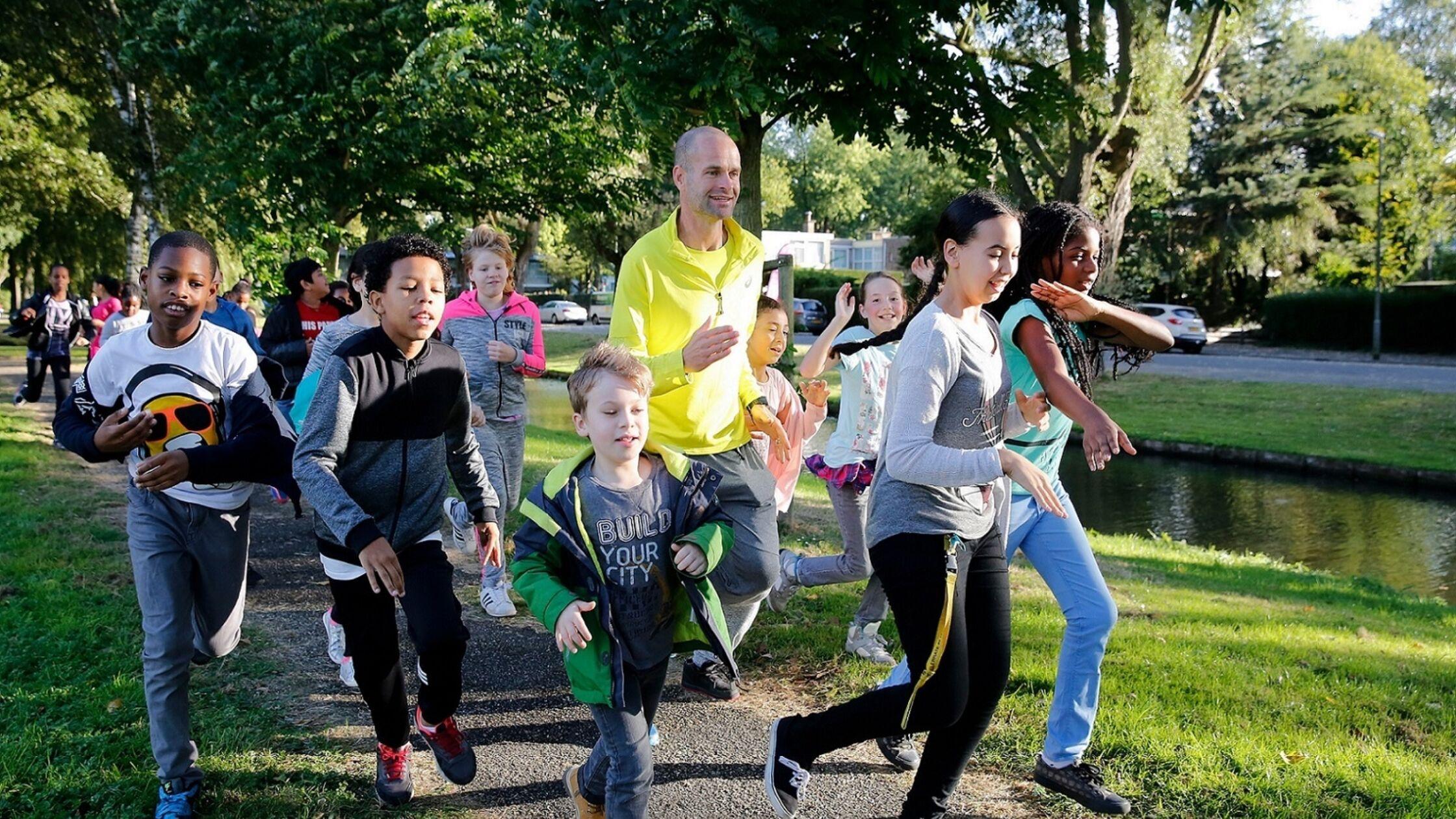 Elke dag een mile hardlopen helpt kinderen met concentreren