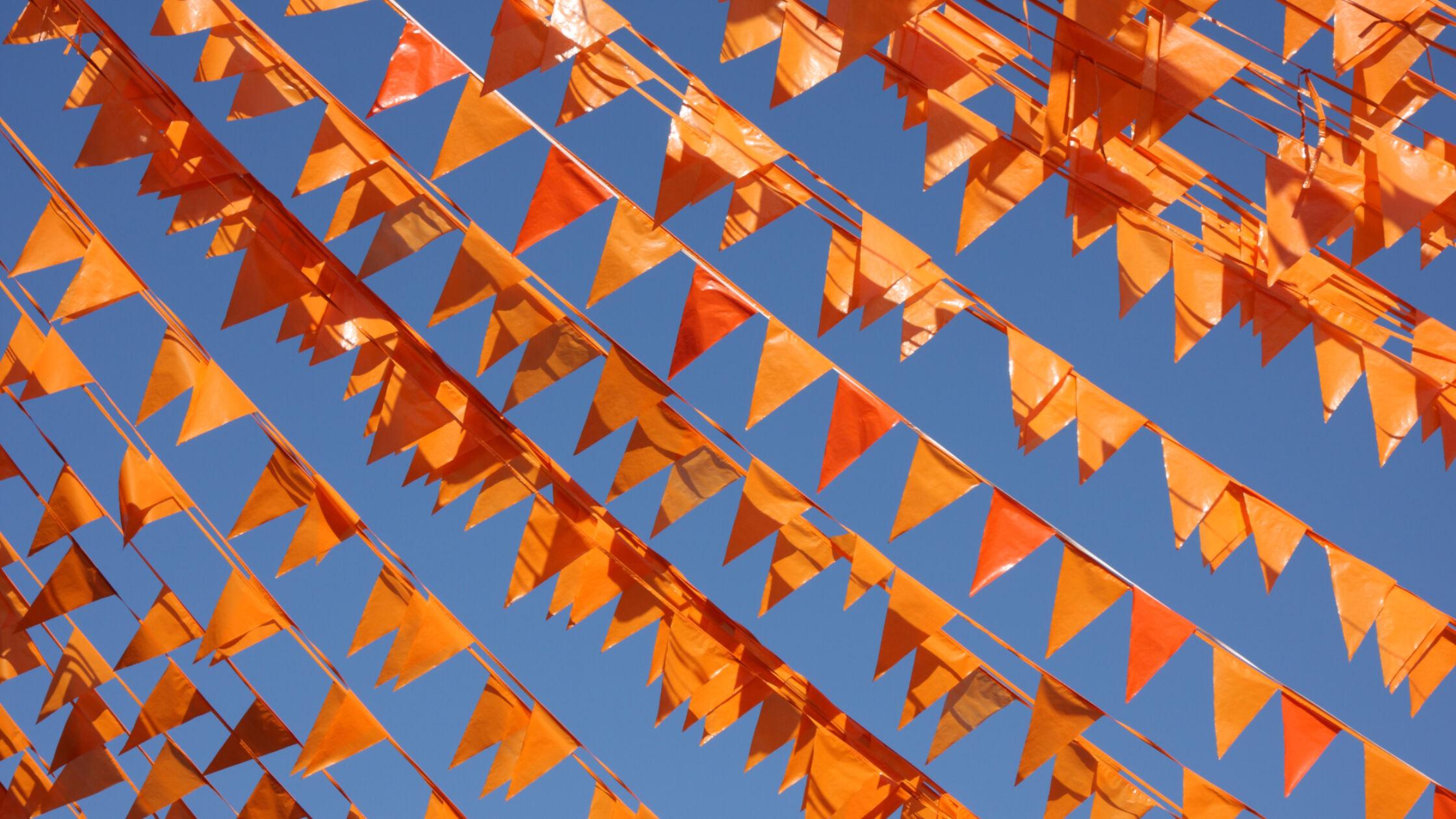 Oranje boven tijdens deze Koningslopen!
