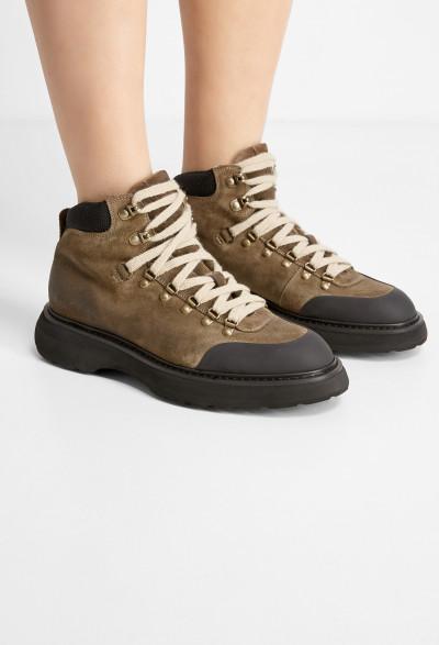 Обувь с мехом Doucal's DD8510 221/0D3 - Фото 6