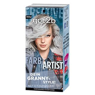 got2b UB 098 Farbartist Granny Silber