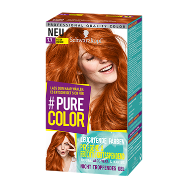 Pure Color 7.7 Roter Ingwer