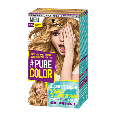 Pure Color 9.55 Goldener Honig