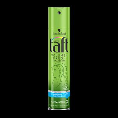 taft Volumen Fresh Haarspray für schnell fettendes Haar