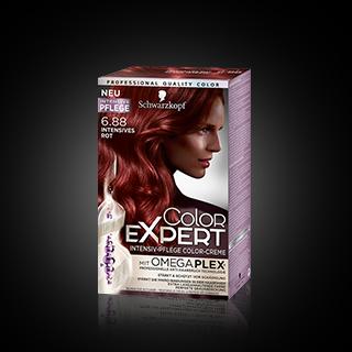 Color Expert Intensiv-Pflege Color-Creme 6.88 Intensives Rot