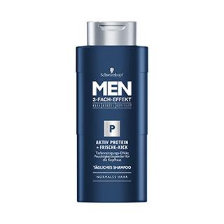 Aktiv Protein und Frische-Kick – Shampoo von Schwarzkopf MEN