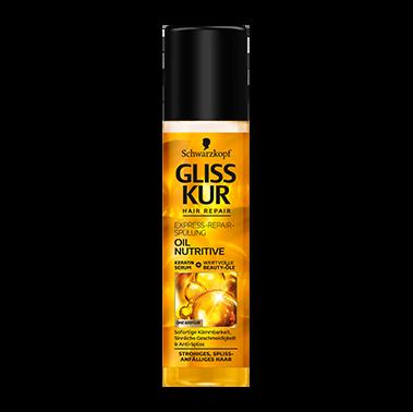 Gliss Kur Express-Repair-Spülung Oil Nutritive