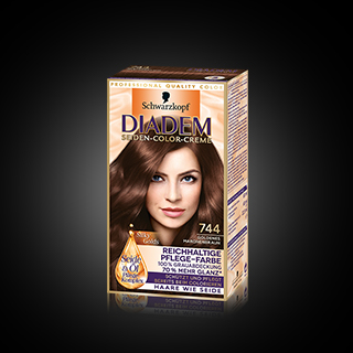 Diadem 744 Goldenes Maronenbraun
