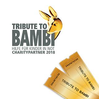 Jetzt TRIBUTE TO BAMBI 2018 Tickets gewinnen!