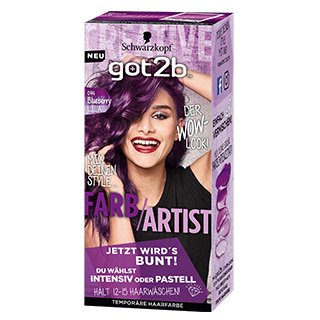 got2b UB 094 Farbartist Blueberry Lila