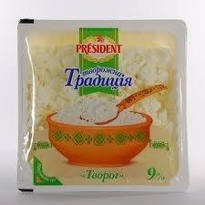Сир President Творожні традиції 9%