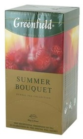 Чай Greenfield Summer Bouquet Зелений