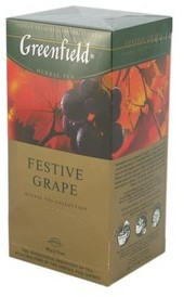 Чай Greenfield Festive Grape Зелений