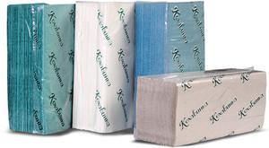 Рушники паперові Кохавинка ZZ зелені