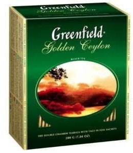 Чай Greenfield Gold Ceylon Чорний