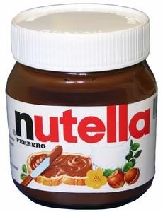Крем Nutella шоколадно-горіховий