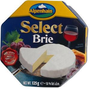 Сир Select Brie  вершковий Альпенхайм