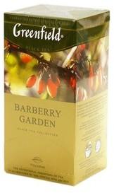 Чай Greenfield чорний Barberry Garden