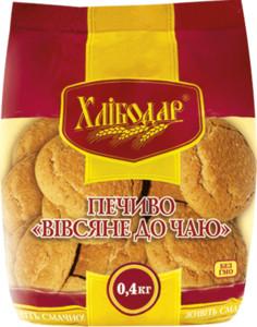 Печиво ЗХК вівсяне до чаю 400Г