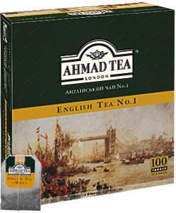 Чай Ahmad чорний англійський №1