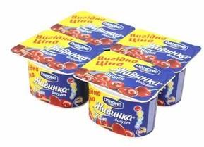 Йогурт Danone Живинка Чорниця 4шт