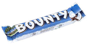 Батончик Bounty шоколадний