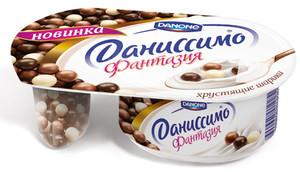 Йогурт Danone Даниссимо Фантазія хрусткі кульки