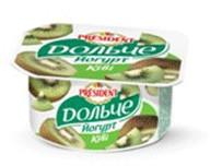 Йогурт President Дольче полуниця 3,2% 4шт