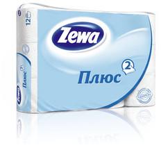 Папір туалетний Zewa плюс