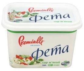 Сир MilkLife Фета Premialle м'який 45%