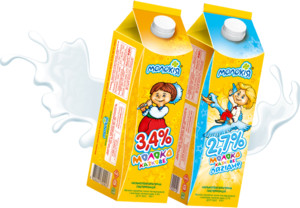 Молоко 3,4% Молокія Казкове п/п 930г