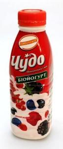 Йогурт питний Чудо лісові ягоди 2,5%