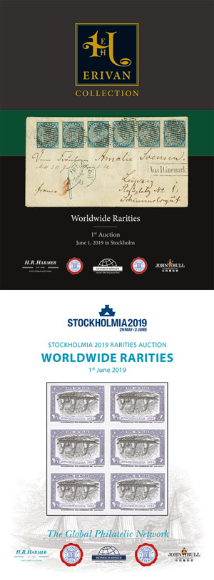 STOCKHOLMIA 2019 & ERIVAN Worldwide Rarities