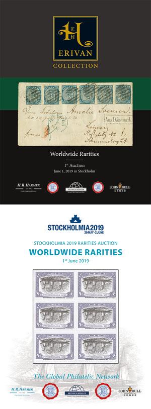 STOCKHOLMIA 2019 & ERIVAN Worldwide Rarities