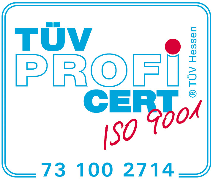 DIN-ISO 9001 Certificate