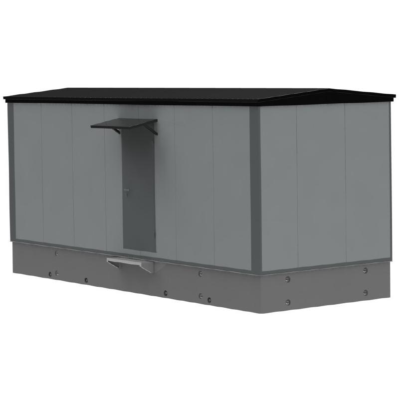 HMICC med betongfundament