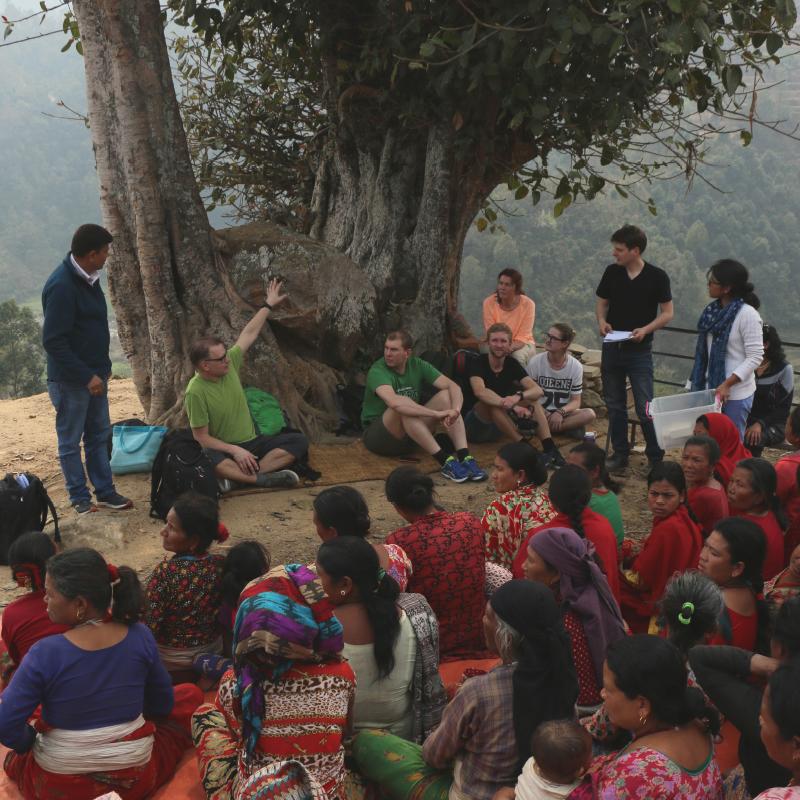 I samarbete med Tuki Nepal