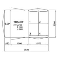 TSK 1000-4, 12 kV • Ritn.nr. 10000