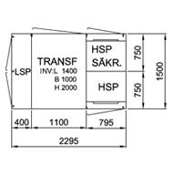TSK 315-1S+2L, 12 kV • Ritn.nr. 10044
