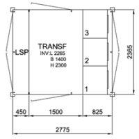 TSK 1000-3, 12kV • Ritn.nr. 10306