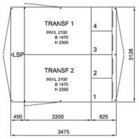 TSKR 2/1000-4, 12 kV • Ritn.nr. 10330