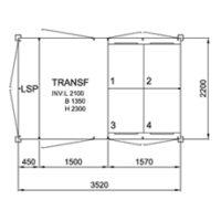 TSK 1000-4, 12kV • Ritn.nr. 10469