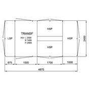 10481 TGS 1250 3HSP, 24kV • Ritn.nr. 10481