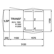 TSK 315-4, 12 kV • Ritn.nr. 9901